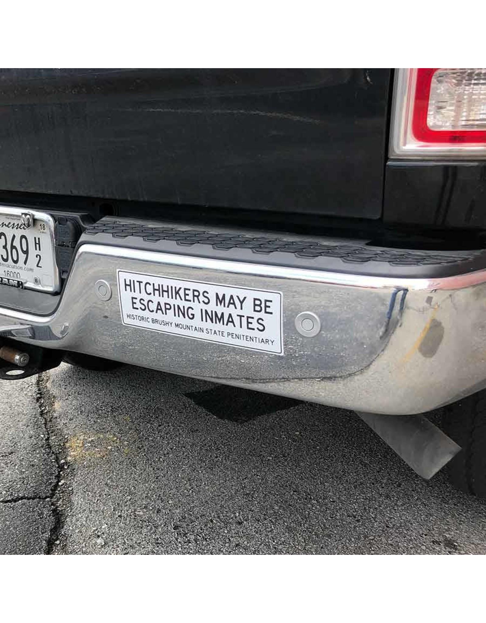 custom werks Bumper Sticker - Hitchhickers