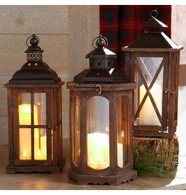 "19"" Lantern Heaxagon + windows"