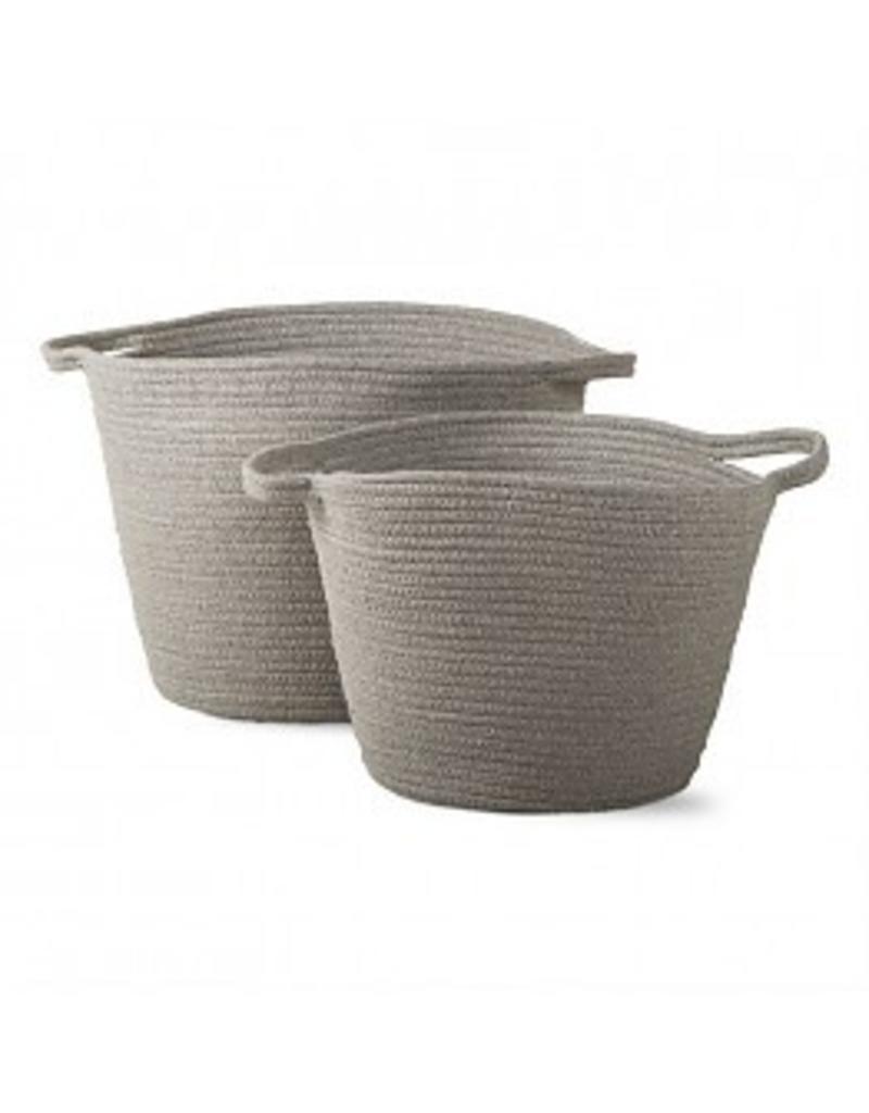 Tag Ltd Cross Stitch Cord Basket Large