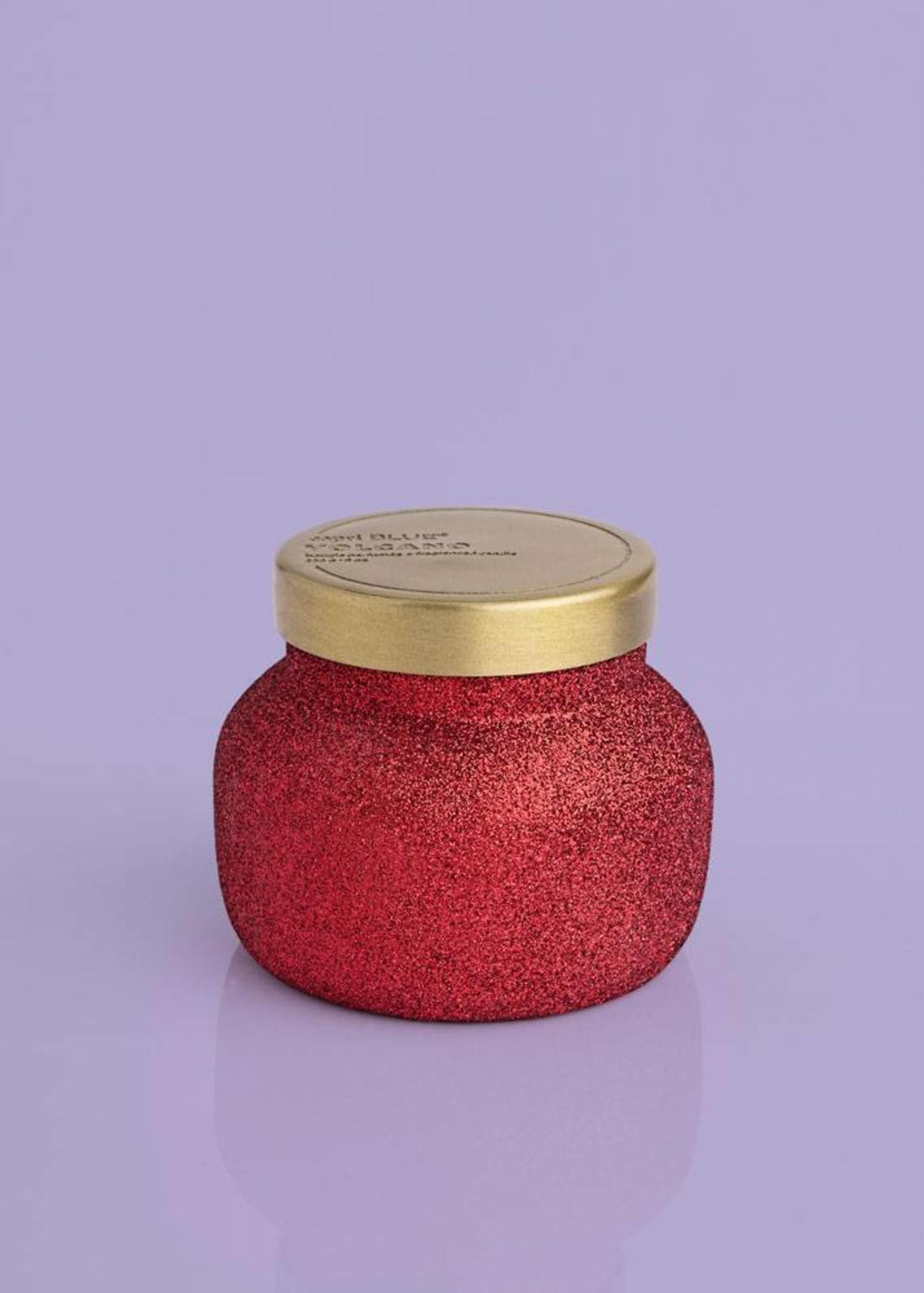 Capri Blue 8oz Glam Red Glitter Volcano