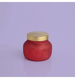 Capri Blue 8oz Glam Red Glitter Volcano