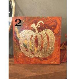 Kris Marks Kris Marks 6 x 6 Pumpkin Painting 2