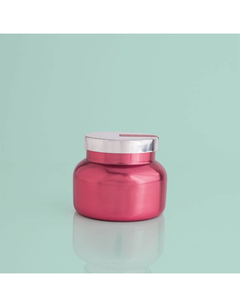 Capri Blue 8 oz Pink Metallic Petite Jar Pink Peppermint
