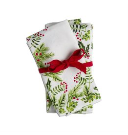 Tag Ltd Holly Berry Napkin Set/4