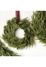"21"" Mixed Pine & Cedar Wreath"
