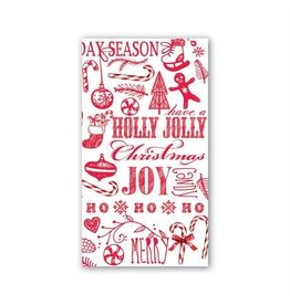 Michel Design Works Ho Ho Ho Hostess Napkin