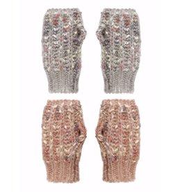 Ganz Knit Handwarmers Pink