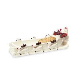 Santa Cracker Dish