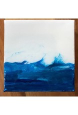 Kris Marks 4x4 Mini Canvas w/ Easel & Magnet