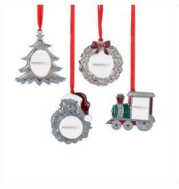 Ganz Holiday Framed Ornament Santa