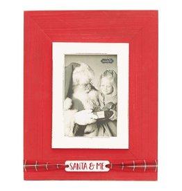 Vertical Santa and Me Frame 4x6