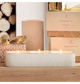 Thymes Frasier Fir Ceramic Tea Light Set