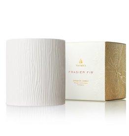 Thymes Medium Ceramic Candle Frasier Fir