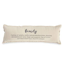 Mud Pie Family Definition Pillow