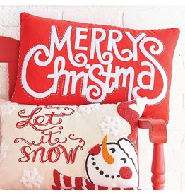 "Raz Imports 21"" Merry Christmas Pillow"