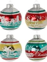 Raz Imports Vintage Ball Ornament