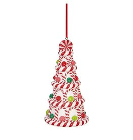 raz Peppermint Candy Tree Ornament