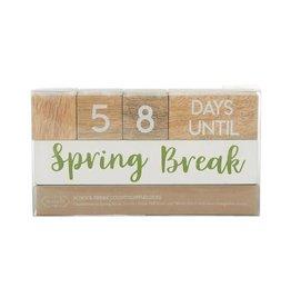 Teacher Break Countdown Blocks