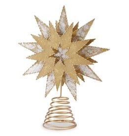 Metallic Star Tree Topper