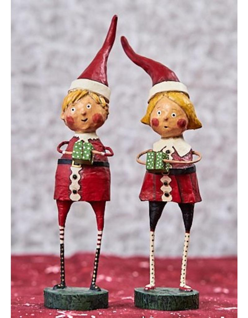 "ESC & Company ""Santa's Little Helpers"" Boy Figurine"