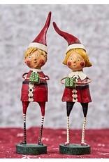 "ESC & Company ""Santa's Little Helpers"" Girl Figurine"