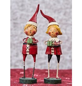 "ESC & Company ""Santa's Little Helpers"" Girl Figurine"