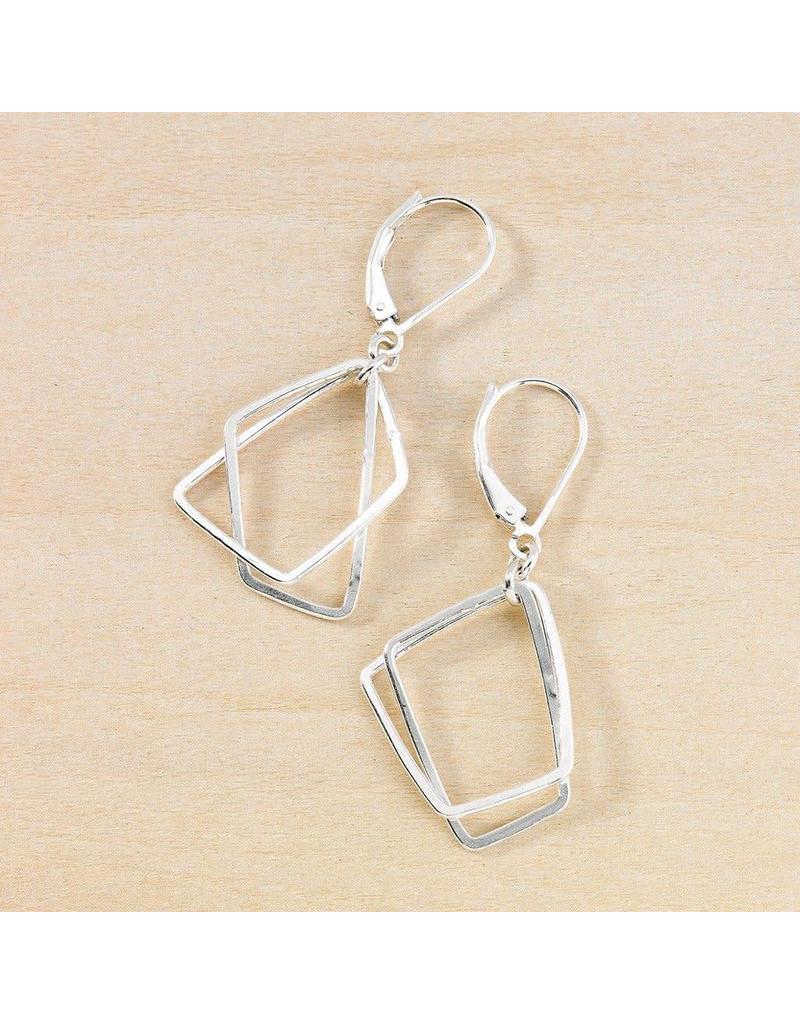 Freshie & Zero SS Trapezoid Earrings