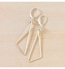 Freshie & Zero SS Pivot Earrings