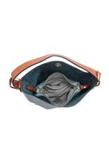 Buford Wholesale 2 Zipper Pocket Conceal Carry Handbag Black