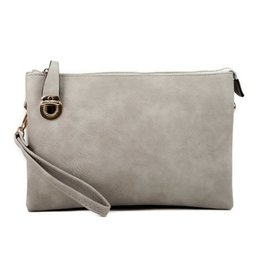 Buford Wholesale Clutch / Crossbody Light Grey