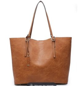 Buford Wholesale Handbag w/ Inner Bag Brown
