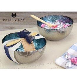 Pampa Bay Deep Glass Bowl Set Blue