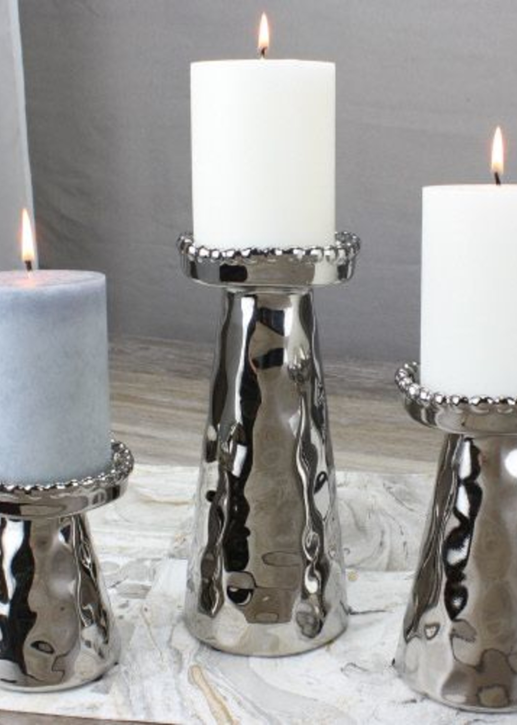 Pampa Bay Large Beaded Candle Holder
