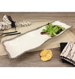 Pampa Bay Rectangle Serving Piece White