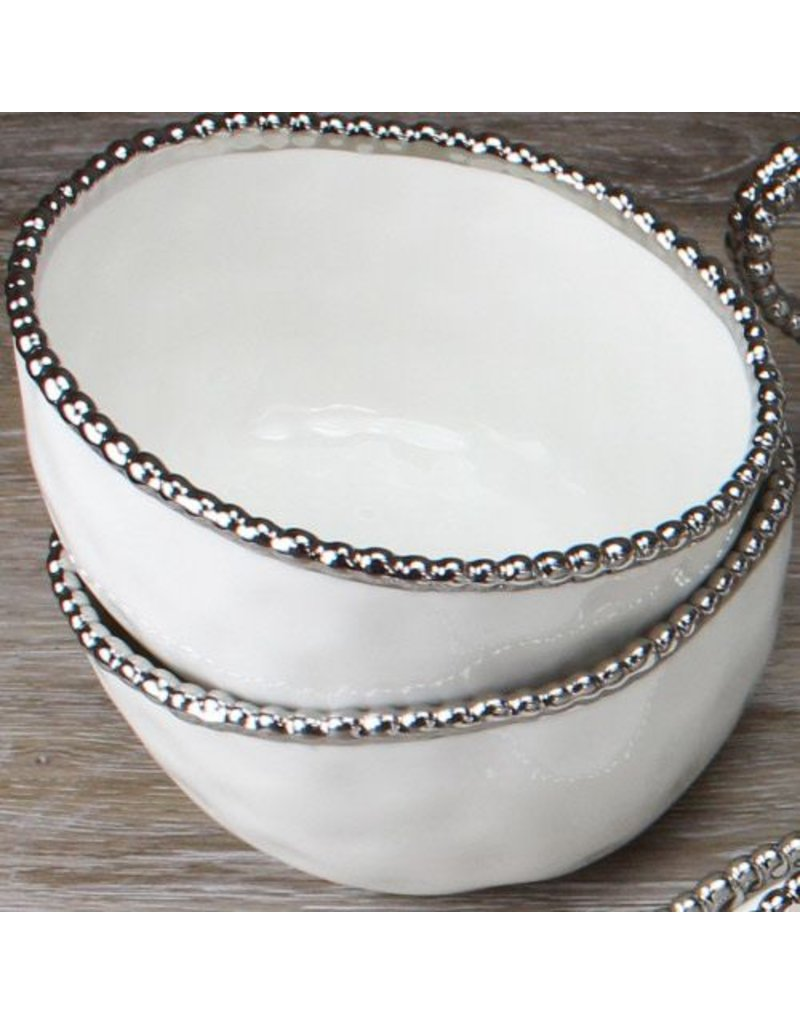 Pampa Bay Round Cereal/Soup Bowl White
