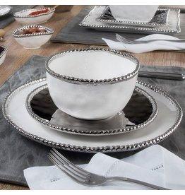 Pampa Bay Round Salad Plate Silver