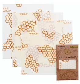 Bee's Wrap Set/3 Medium Wraps