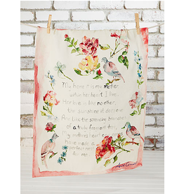 April Cornell Mother's Poem Tea Towel Multi
