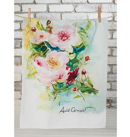 April Cornell Peony Tea Towel Multi
