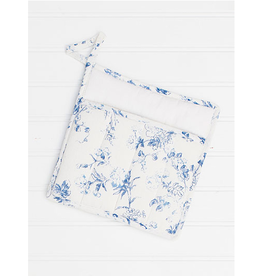 April Cornell Annalouise Potholder Blue