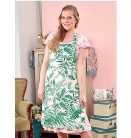 April Cornell Fern Chef Apron Spring Green