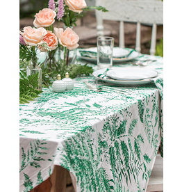 April Cornell Fern Tablecloth Spring Green