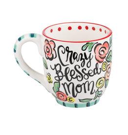 Glory Haus Crazy Blessed Mom Mug