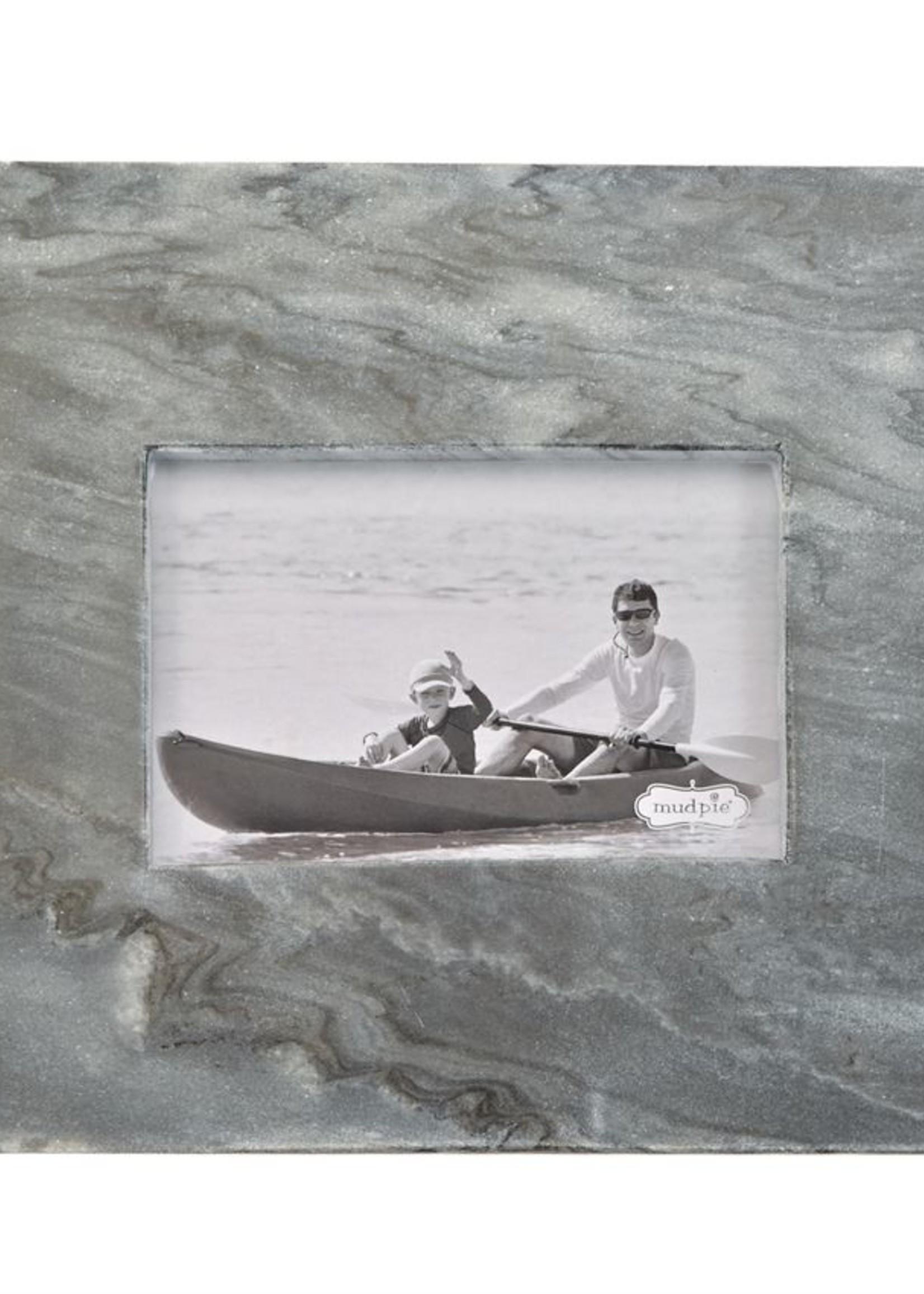 Mud Pie 4x6 Marble Frame