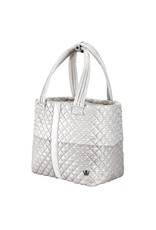 Oliver Thomas Wingwoman Tote Lrg Champagne Color Block