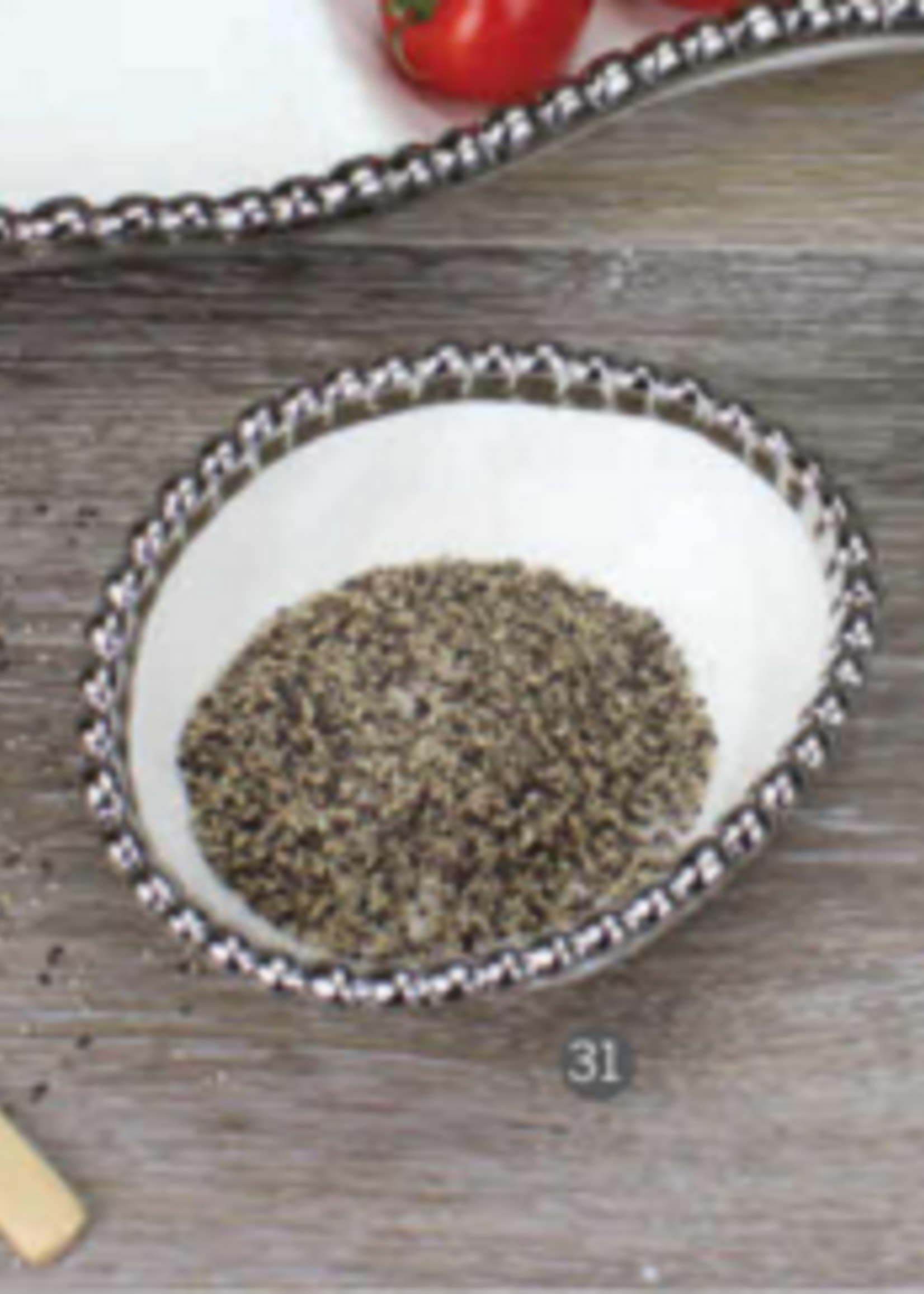 Pampa Bay Salerno Oval Condiment Bowl White