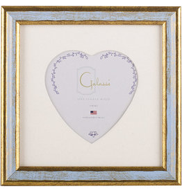 Galassi Traditional Blue Heart Frame 3 x 3