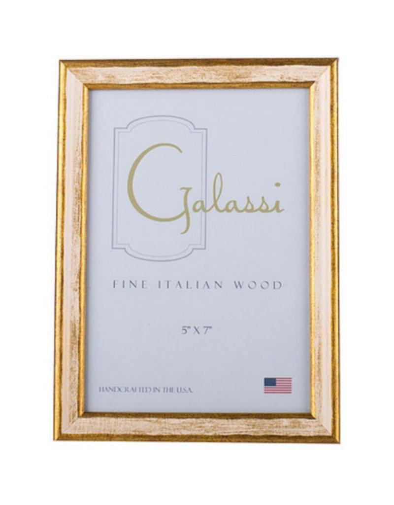 Galassi Cream/Gold Frame 4 x 6