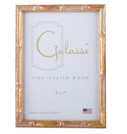 Galassi Gold Bamboo Frame 5 x 7