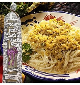 Gullah Gourmet Angel Hair Pasta w/ Hallelujah Cream Sauce